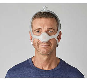 Philips Respironics DreamWisp Nasal CPAP Mask with Headgear (S, M, L Cushions Included)
