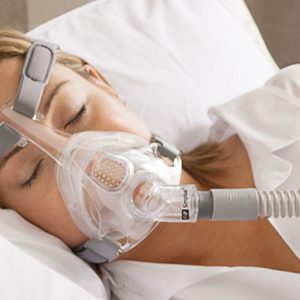 Fisher & Paykel Simplus Full Face CPAP Mask with Headgear (S,M,L Cushions Included)