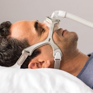 Philips Respironics Wisp Nasal CPAP Mask with Headgear (S/M, L , XL Cushions Included)