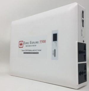 Zopec EXPLORE 5500 Universal Portable CPAP Backup Battery