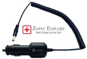 Zopec EXPLORE Car Charger (12 V DC-DC)