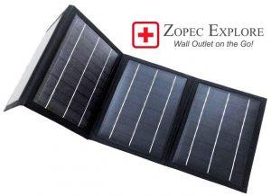 Zopec EXPLORE Solar Panel Charger
