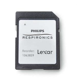 Philips Respironics DreamStation and DreamStation 2 SD Data Card